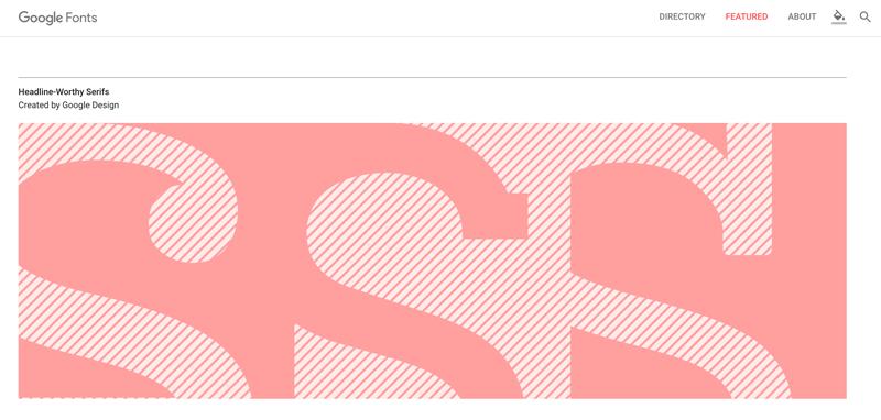 Le nouveau Google Fonts est arrivé !